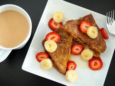 Ezekiel French Toast ♡ A healthier version of an all-time breakfast favorite! This Ezekiel French Toast recipe is clean and high in protein, perfect for the whole family! Best Meal Prep, Healthy Meal Prep, Healthy Snacks, Healthy Recipes, Healthy Eats, Healthier Desserts, Vegetarian Recipes, Healthy French Toast, Ezekiel Bread