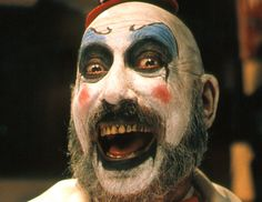 Some great art and tattoo's of the worlds favourite clown, Captain Spaulding (from Rob Zombie Films Fame) Pics c. Terrifying Movies, Scary Movies, Great Movies, Horror Movies, Abc Movies, Horror Movie Quotes, Excellent Movies, Funny Horror, Horror Fiction