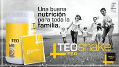 La formula de TEO SHAKE ha sido diseñada con el objetivo de lograr un producto