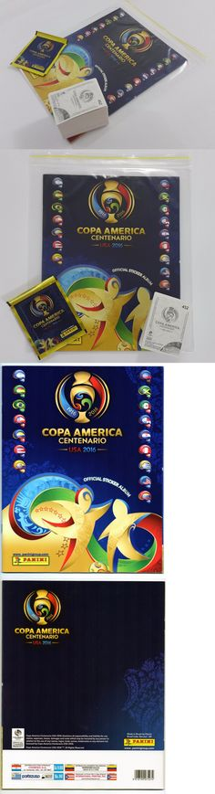Sports Stickers Sets and Albums 141755: Panini Copa America Centenario 2016 Usa Complete Loose Sticker Set + Empty Album -> BUY IT NOW ONLY: $54.99 on eBay!