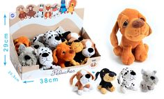 205545 Petits chiens #Dodod'amour gamme éveil sous forme de présentoir à retrouver dans vos magasins préférés