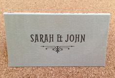 Place names are personalised on the reserve - we can add your wedding date too!