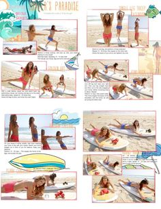 Workout! Tone It Up! These chicks are awesome and have such nice bikinis!