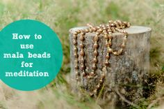 How to use mala beads for meditation | Mala Collective authentic and blessed mala beads