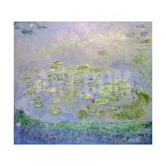 Water Lilies, C1915 Giclee Print by Claude Monet at Art.com