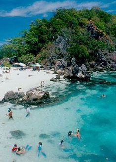 Pulau Tioman, Malaysia - Snorkeling with the most beautiful corals and reefs...I admit.