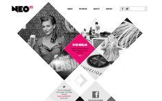 neo lab. web design inspiration.