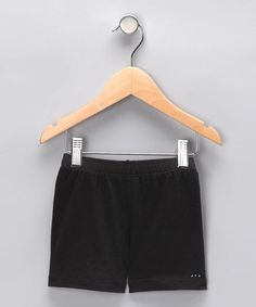 Take a look at this Black Undershorts - Toddler & Girls by Sparkle Farms on #zulily today!