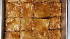 Baklava Dessert, Baklava Recipe, Baked Beetroot, Greek Baklava, Mediterranean Desserts, Drop Scones, Turkish Recipes, Ethnic Recipes, Phyllo Dough