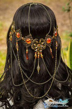 Beautiful handmade Persephone Goddess by BlingGoddessBoutique
