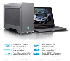 Node Pro - Thunderbolt 3 PCIe Expansion Chassis with PD The Expanse, Electronics, Cards, Maps, Playing Cards, Consumer Electronics