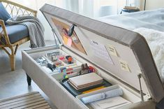 100 amazing storage hacks you have to see – Storage 2020 Small Bedroom Storage, Small Space Storage, Vertical Storage, Storage Spaces, Ikea Storage Solutions, Office Supply Storage, Storage Organization, Storage Ideas, Organisation Ideas