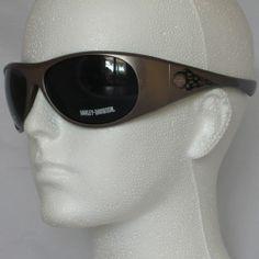 Harley Davidson Motorcycles Wraparound Sunglasses With Case HDX819 GUN-3