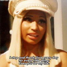 Why I love nicki minaj ❤️ Stars Then And Now, Female Stars, Thank God, Nicki Minaj, Rap, Beautiful Women, Words, Music, Quotes