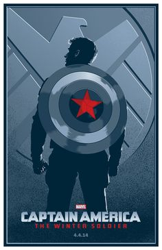 Captain America: The Winter Soldier - movie poster - Toby Gerber