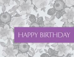 Preview Image For Product Titled Floral Birthday