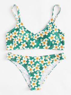 Shop Calico Print Cami Bikini Set online. SheIn offers Calico Print Cami Bikini Set & more to fit your fashionable needs.