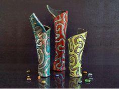 Excited to share the latest addition to my #etsyshop: #raku #pottery #colorful #flowervase:   http://etsy.me/2o9CDpF   #ceramic #ceramiques #ceramica #keramik #poterie #homedecor #nautical #coastal #beachhome #vase #seaanemone #ocean #gift #etsyfinds #epiconetsy