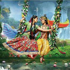 Radha Krishna Songs, Radha Krishna Pictures, Lord Krishna Images, Radha Krishna Photo, Krishna Photos, Shree Krishna, Krishna Art, Radhe Krishna Wallpapers, Krishna Drawing