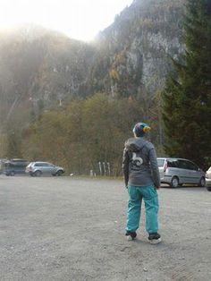 Beware Beach in de bergen van Oostenrijk.