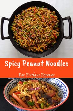 Flavorful noodles packed with rainbow veggies