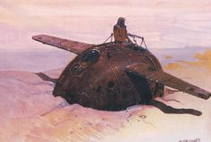 Moebius - grounded flying machine