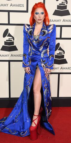 See Your Favorite Stars On The 2016 Grammys Red Carpet - Lady Gaga  - from InStyle.com