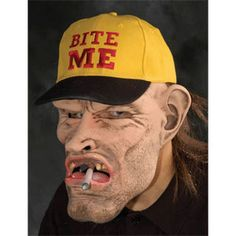 Zagone Dude Mask, Rugged mans face with baseball cap Best Halloween Costumes & Dresses USA Halloween Costumes For Sale, Halloween Masks, Scary Halloween, Hillbilly Costume, Marvel Dc, Cheap Baseball Caps, Star Trek Show, Superman Man Of Steel, Scary Mask
