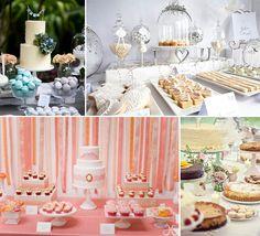Idee per dessert table, confettata e candy buffet