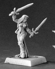 Reaper Miniatures (Majeda, Battle Nun 14543) RPG 25mm Minis