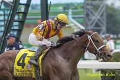 Stonestreet Stable's Cavorting exploded late to be the 2 1/2-length winner of Saturday's Grade 1 Ogden Phipps at Belmont Park, defeating a talented group of older fillies and mares. 4 yr old Cavorting wins the Ogden Phipps 6/10/16