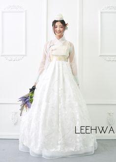 30 Modern Bridal Hanbok By Leehwa Ideas Modern Bridal Hanbok Korean Dress