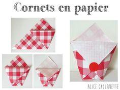 Soirée Moules-Frites samedi soir ... DIY cornets en papier