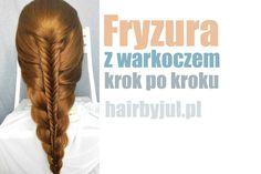 fryzury z warkoczem krok po kroku #warkocze #kłos #fryzury