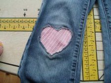 i need to do this to all of selah's jeans! (well at least the ones with holes)