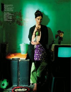 IMG 9186 Vogue Netherlands May 2014   Anna De Rijk by Bharat Sikka  [Editorial]