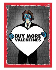 My Funny Valentine, Happy Valentines Day, Holiday Pictures, When You Love, Creepy, Horror, Superhero, Halloween, Cards