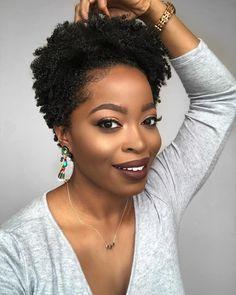 Tapered natural hair, big chop, TWA