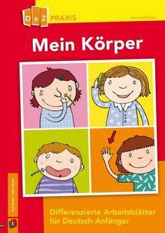Körperteile, Körperpflege (Wortschatz) | German | Pinterest | School ...