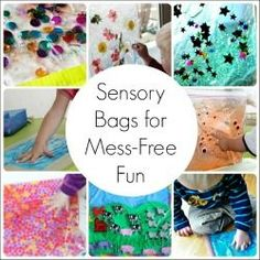 24 Sensory Bags for Engaging, Mess-Free Play