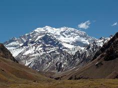Mount Aconcagua, Argentina. 6,959 m.