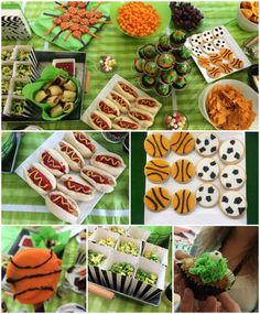 An Action Packed Sports Party - with Bubble Soccer Diabetic Recipes, Healthy Recipes, Bubble Soccer, Healthy Snacks For Adults, Football Birthday, Sports Party, Food Themes, Birthday Party Themes, Dinner Recipes