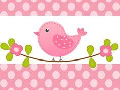 Kit Imprimible Pajaritos Pastel Invitación Candybar Bautismo - $ 300,00 Vogel Clipart, Bird Clipart, Quilt Baby, Baby Set, Carnival Crafts, Animal Cutouts, Homemade Pictures, Bird Party, Bird Theme