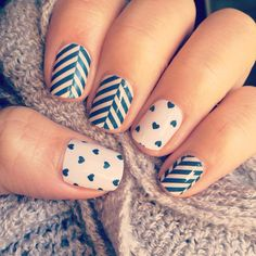 SLATTED HERRINGBONE paired with Puppy Love!   http://jamwithnikki.jamberrynails.net/product/slatted-herringbone#.VPikFIY77CQ  http://jamwithnikki.jamberrynails.net/product/puppy-love