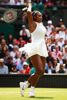 Serena Williams 2016 Wimbledon Ladies Singles Champion..finally achieves her elusive record tying title with Steffi Graf...# 22