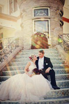 New Year's Wedding  Inspiration : Somewhere In Time   bellethemagazine.com