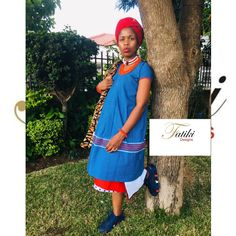 Pedi Traditional Attire, Sepedi Traditional Dresses, Shweshwe Dresses, African Maxi Dresses, African Wear, Summer Dresses, How To Wear, Stuff To Buy, Inspiration