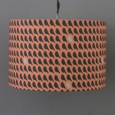 Lorna Syson Flock Sunset Lampshade - Small 20cm diameter x 14cm deep | FloSsSH | £49.00