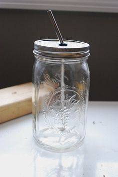 summer drinking jar