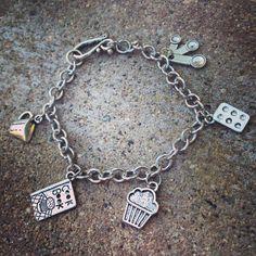 Bakers Charm Bracelet by SixDesignsJewelry on Etsy
